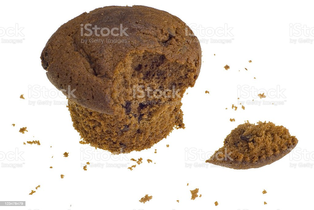 Chocoloate muffin royalty-free stock photo