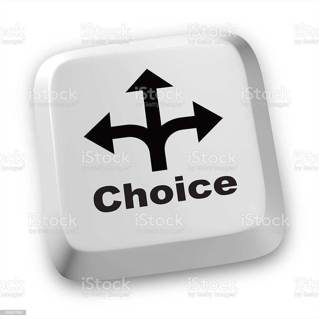 Choice royalty-free stock photo