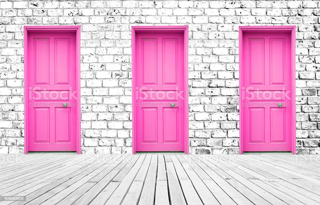 Choice stock photo  sc 1 st  iStock : pink door - pezcame.com