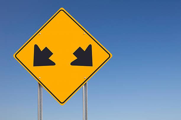 Opción de señal de tráfico - foto de stock