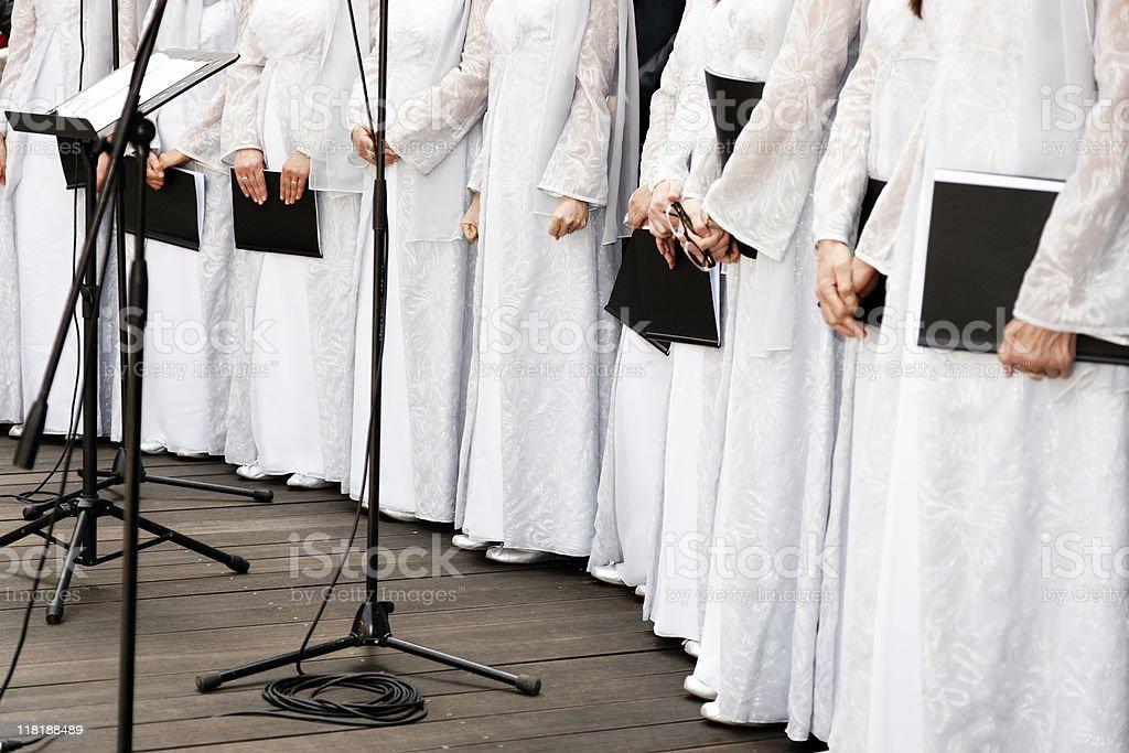 Choir royalty-free stock photo