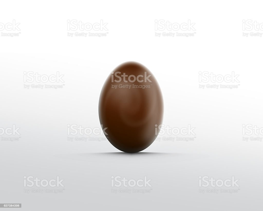 Chokolate egg stock photo