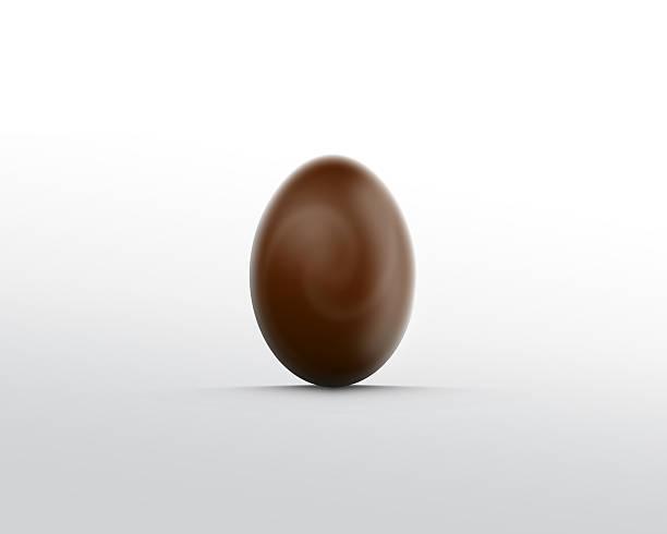 Chokolate egg stock photo