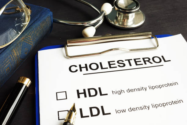 Cholesterol, hdl and ldl. Medical form on a desk. Cholesterol, hdl and ldl. Medical form on a desk. cholesterol stock pictures, royalty-free photos & images