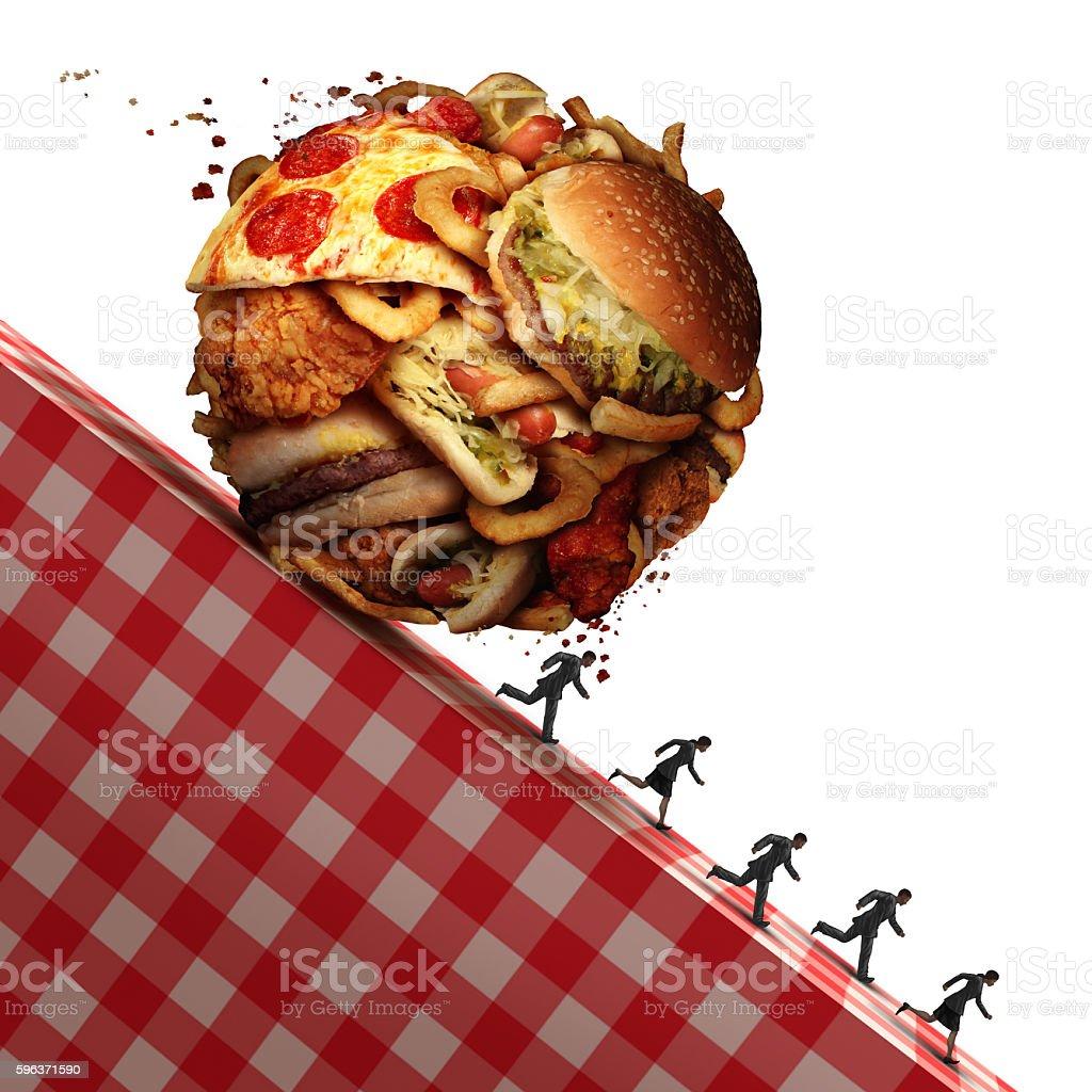 Cholesterol Health Danger stock photo