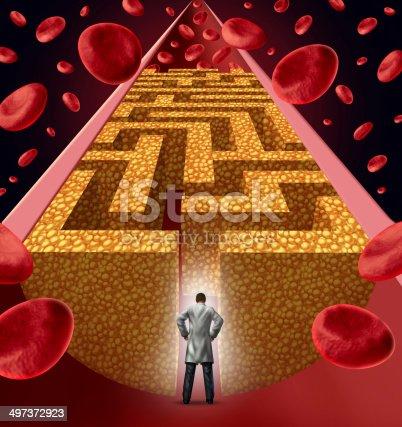 istock Cholesterol Treatment 497372923