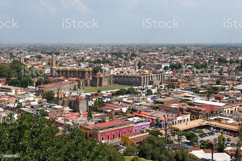 Cholula Puebla stock photo