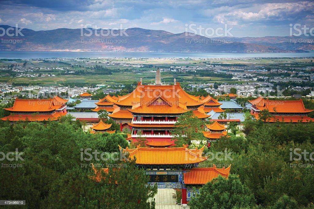 Chongsheng Monastery. Dali, China stock photo