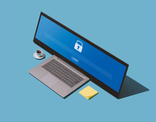 Choose a secure hack-proof password stock photo