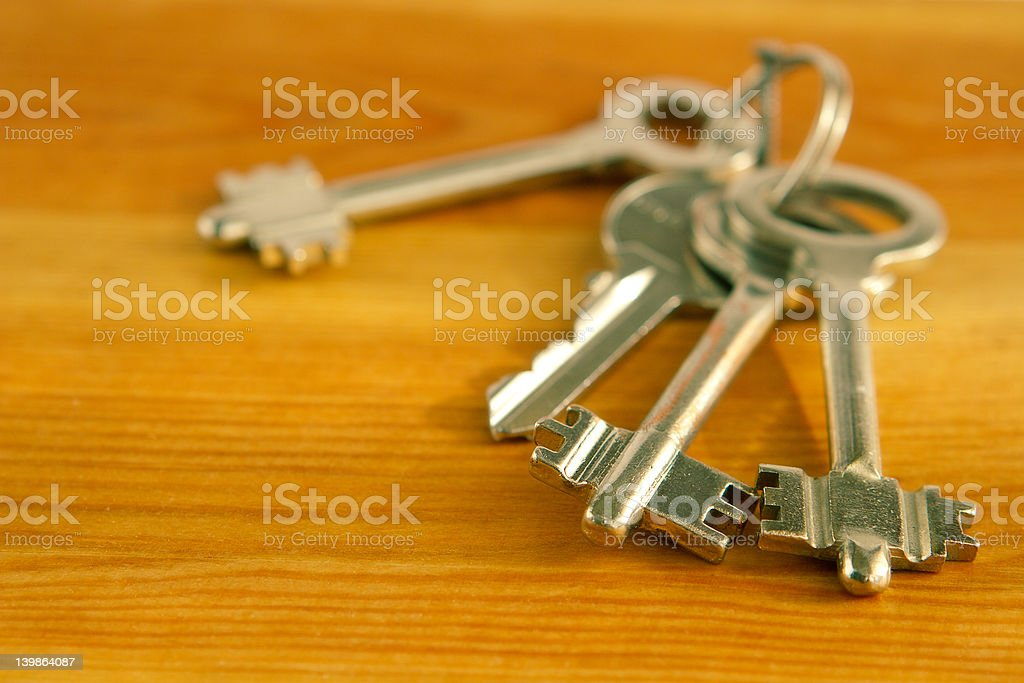 Choose a suitable key royalty-free stock photo
