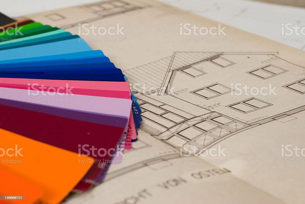choose colors royalty-free stock photo