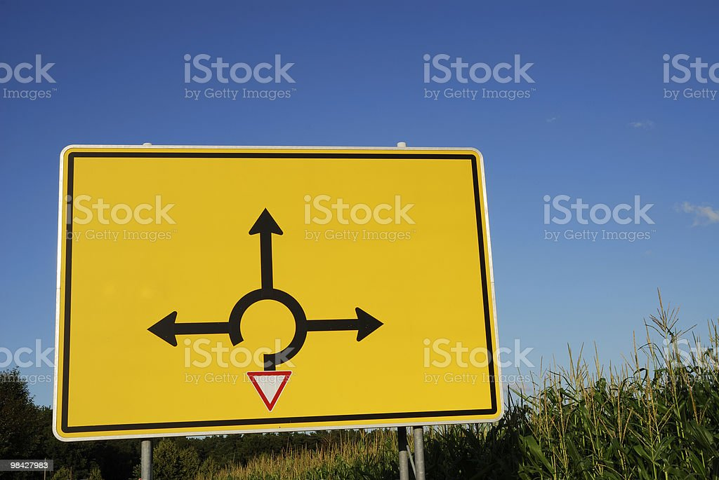 Choose direction royalty-free stock photo