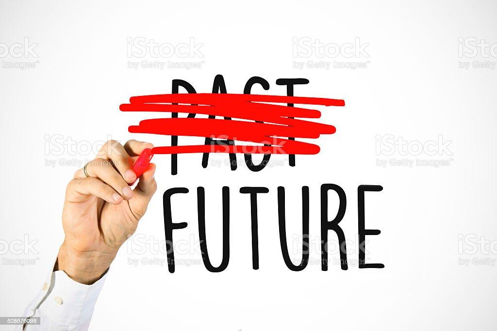 Choose future stock photo