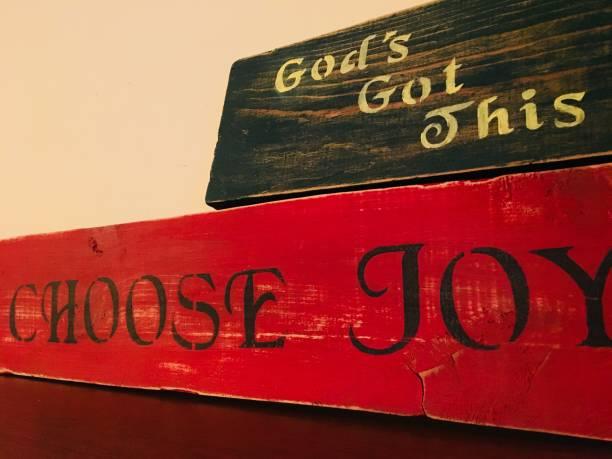 Choose Joy Color stock photo