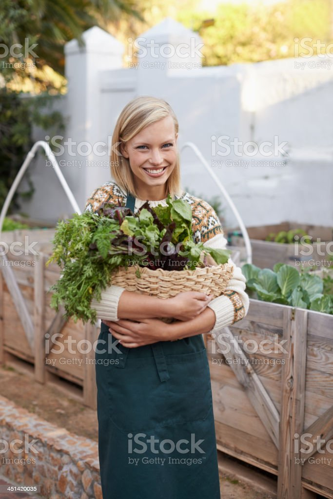 I choose only the freshest stock photo
