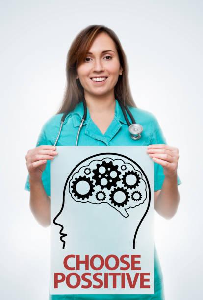 wählen sie positive / healthcare konzept (klick für mehr) - arzt zitate stock-fotos und bilder
