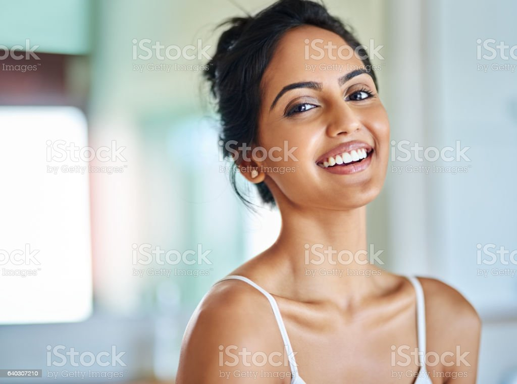 Choose positivity every morning stock photo