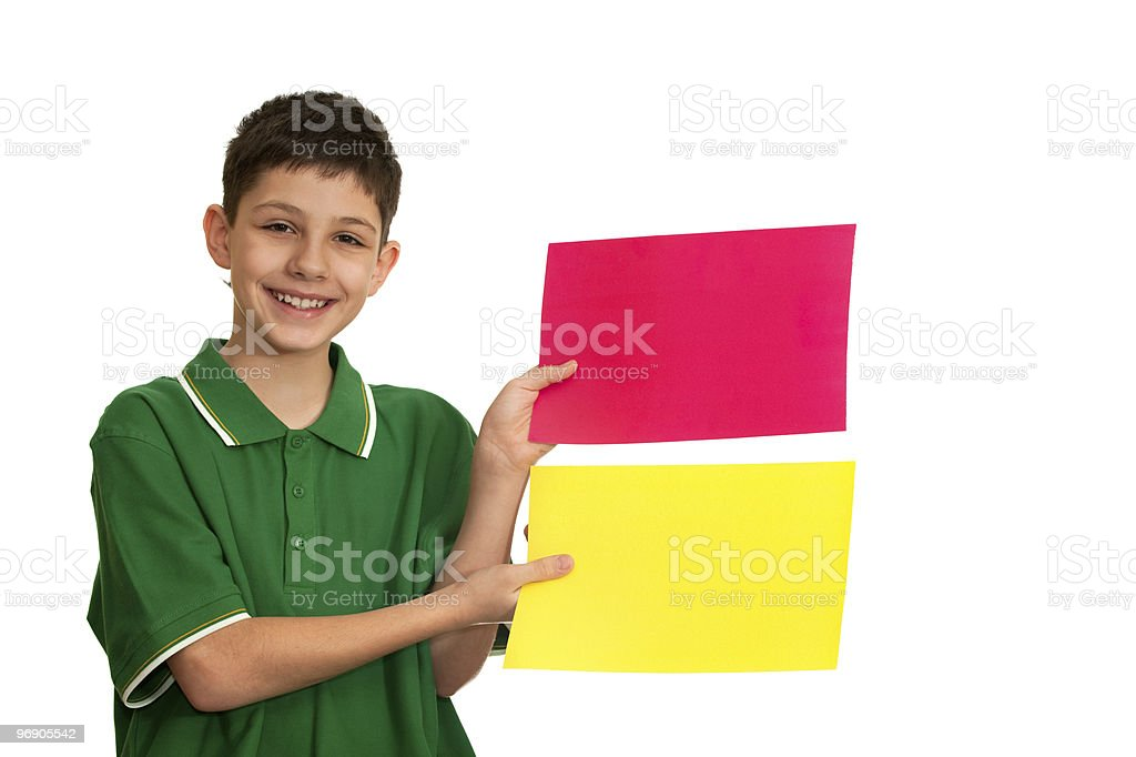 Choose the fashion color! royalty-free stock photo