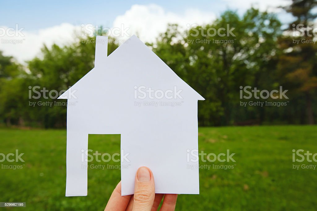 choose the place for your property stock photo