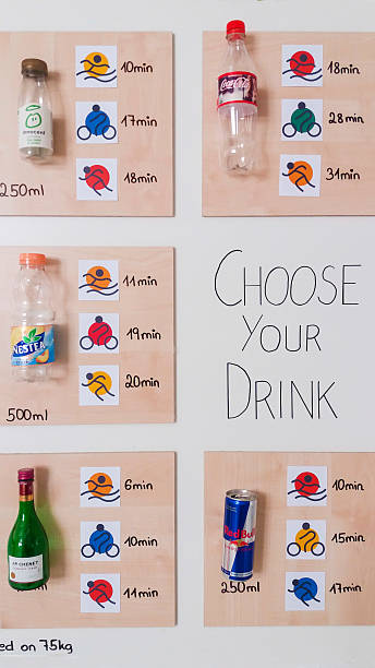 Choose your drink stock photo