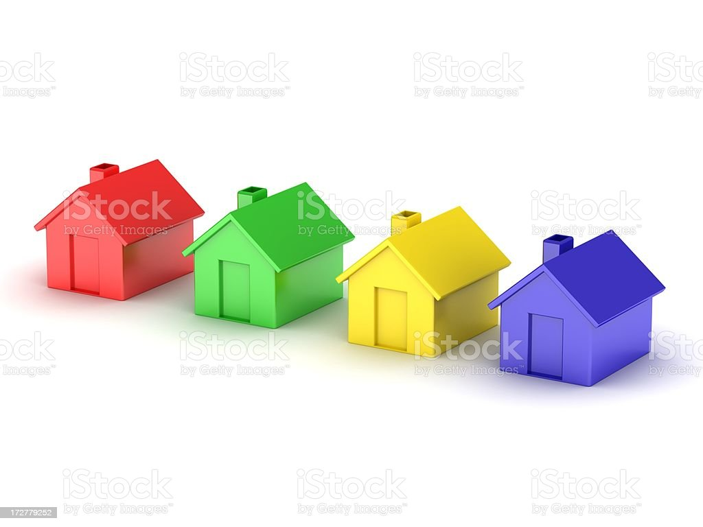Choose your house royalty-free stock photo