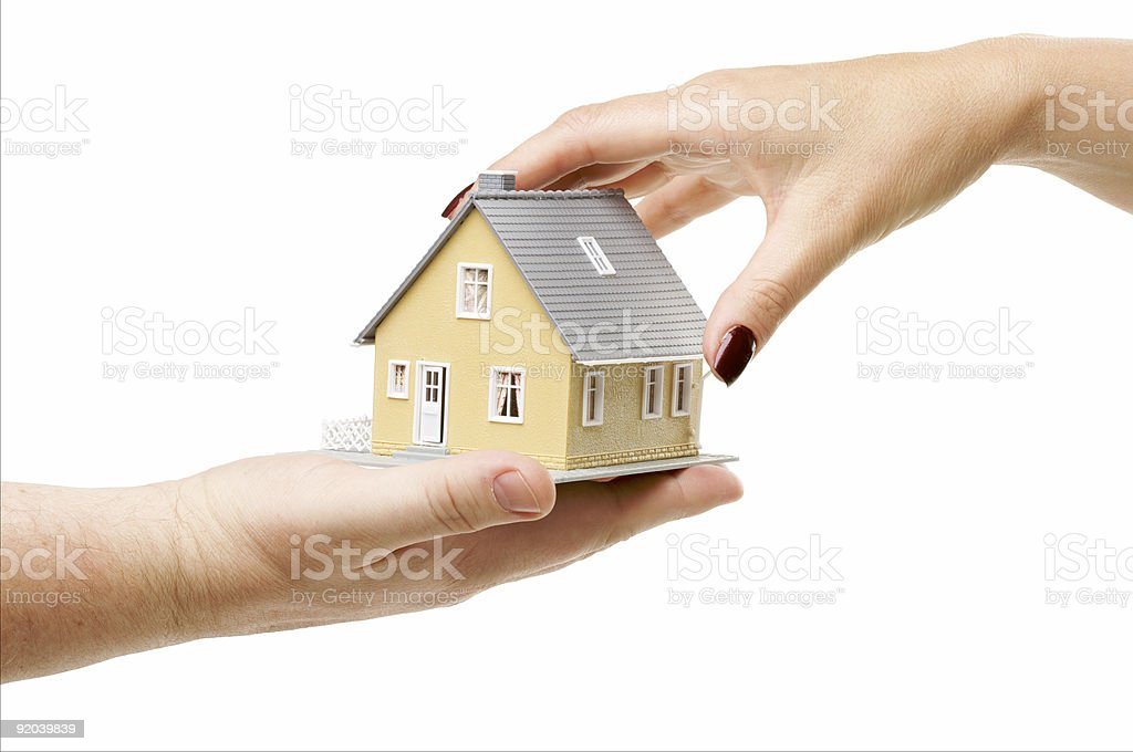 Choosing A Home royalty-free stock photo