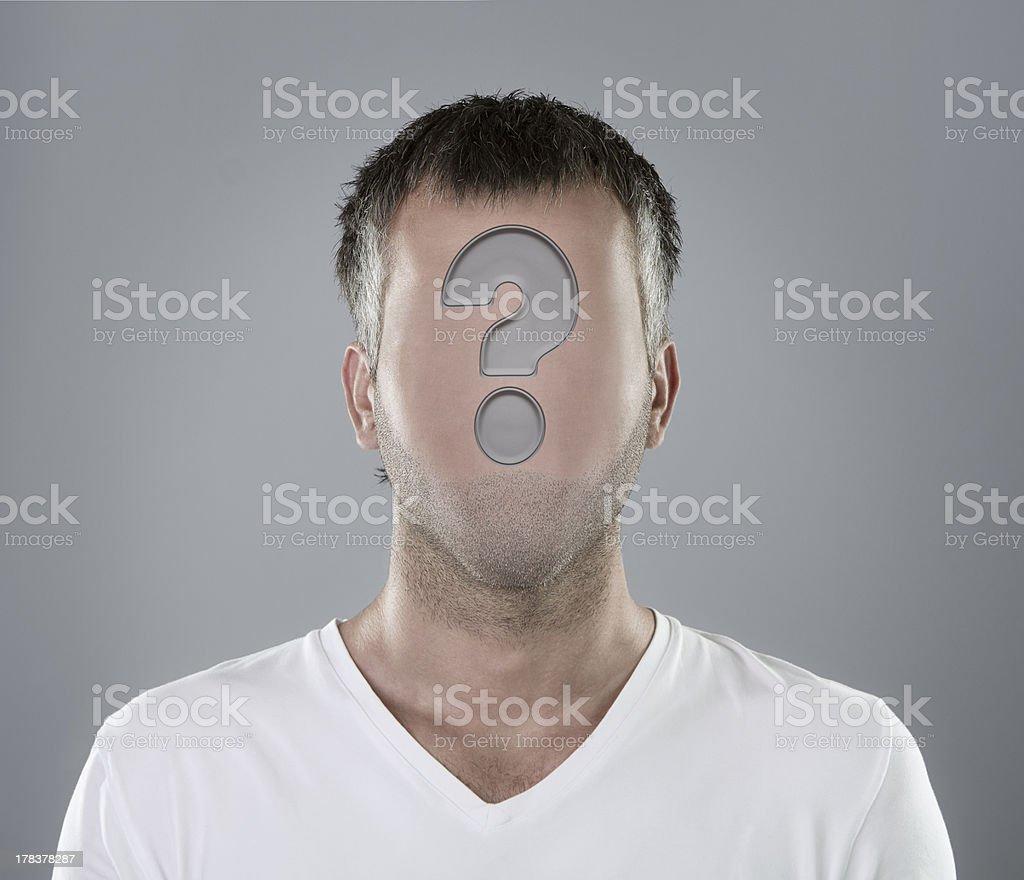 Choosing an employee concept stock photo