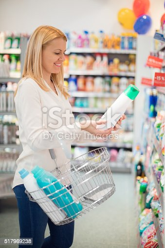 istock Choosing liquid detergent 517969238