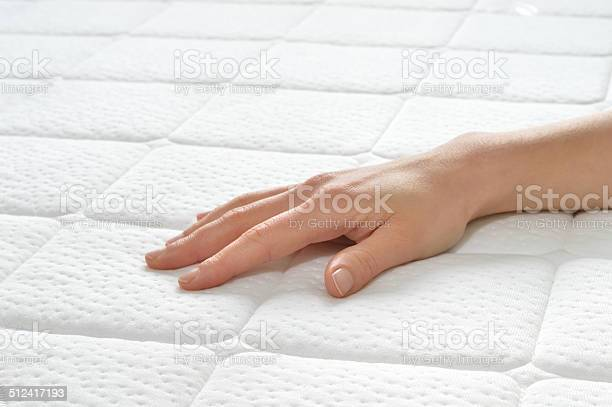 Choosing Mattress And Bed Stock Photo - Download Image Now