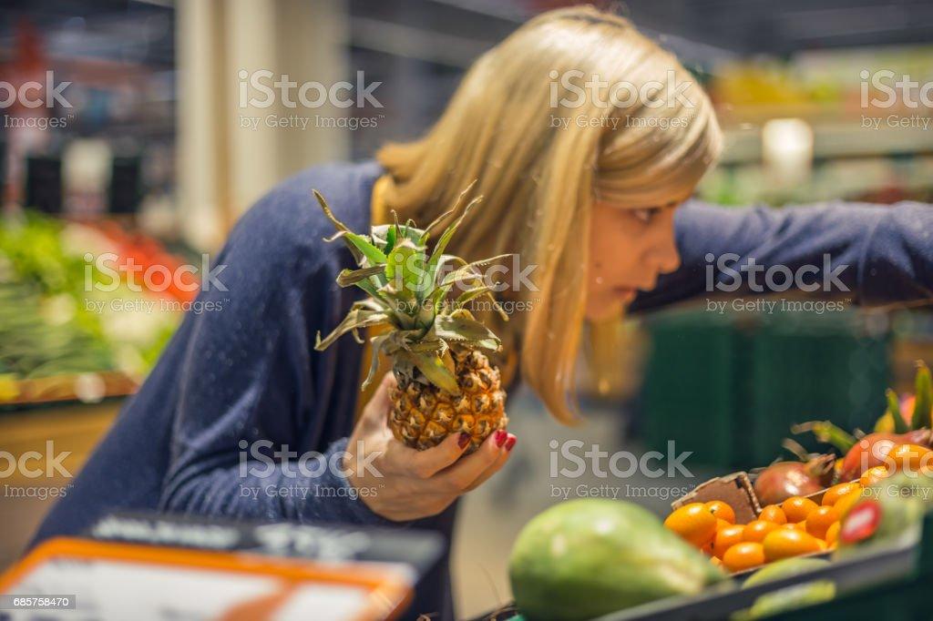 Choix d'ingrédients sains à droite photo libre de droits