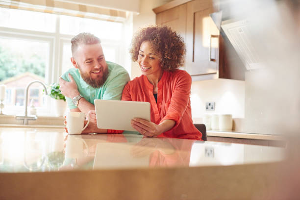choosing the right deal - mortgages loans stock photos and pictures