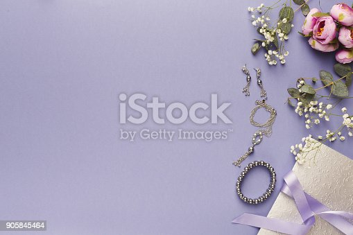 istock Choosing wedding jewelry background 905845464