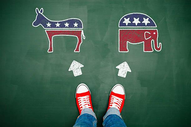 выбор свой путь - республиканская партия сша стоковые фото и изображения