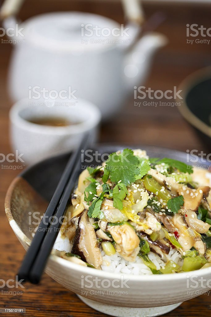 Chop Suey royalty-free stock photo