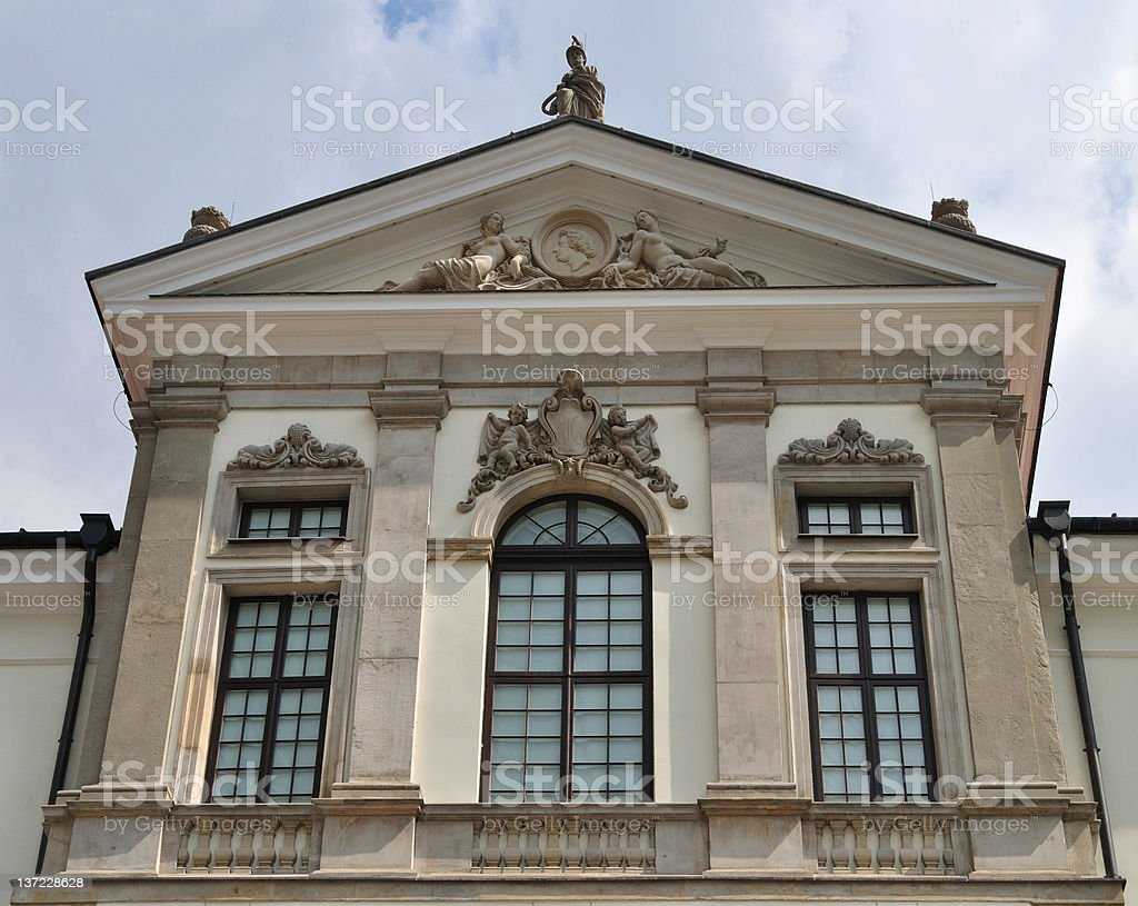 Chopin Museum in Warsaw royalty-free stock photo
