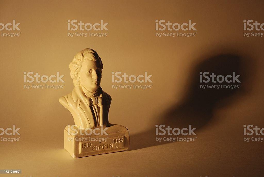 Chopin Shadow stock photo