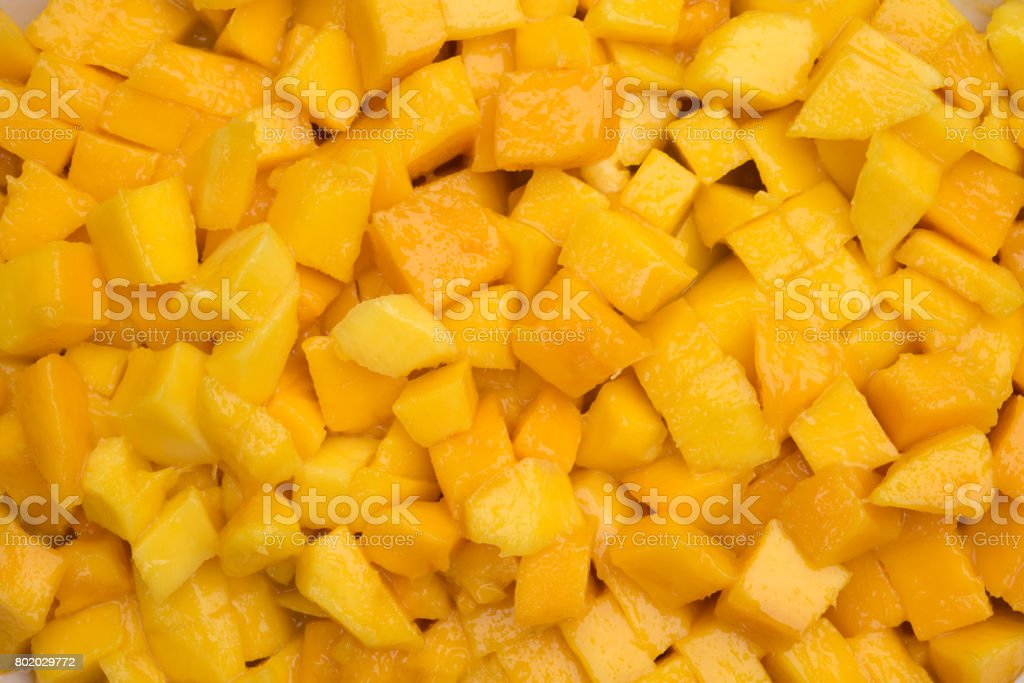 Gehackte mango – Foto