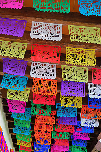 Papel picado - foto de stock