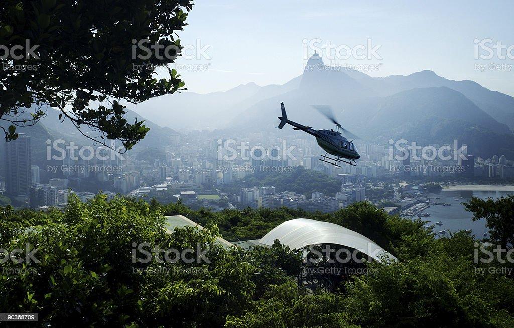 Chopper in Rio Brazil  Brazil Stock Photo