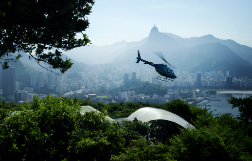 Chopper In Rio Brazil Stock Photo - Download Image Now