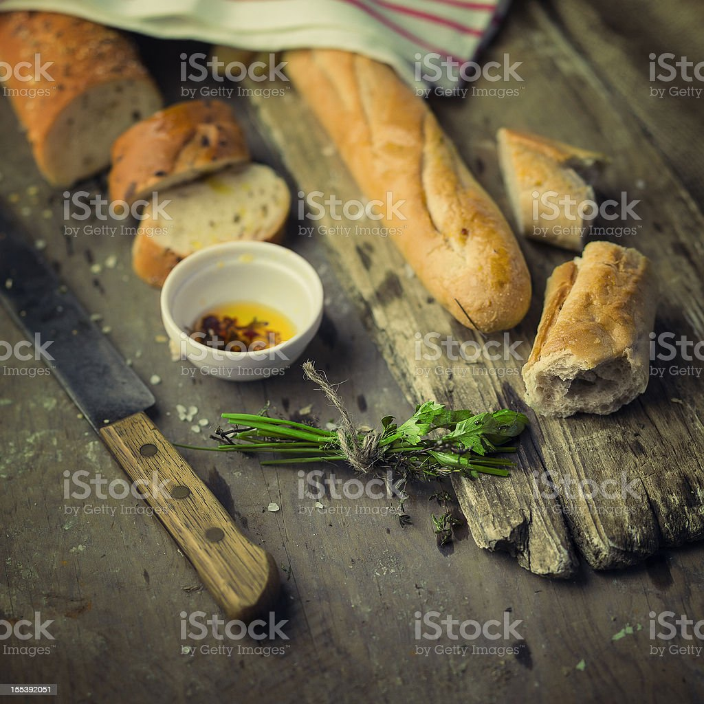 baguettes royalty-free stock photo