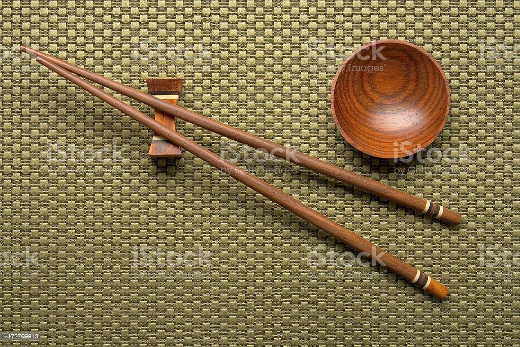 Chopsticks royalty-free stock photo