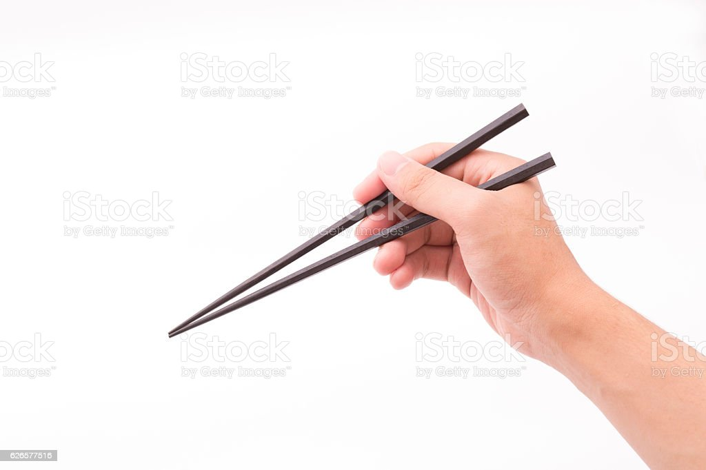chopsticks stock photo