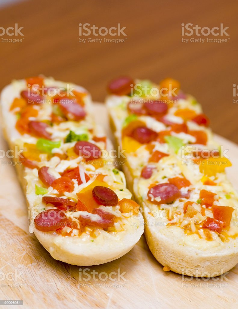 Baguettes stock photo