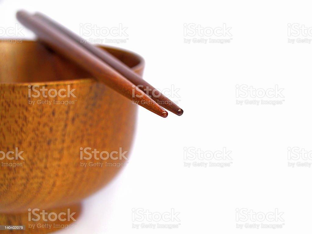 Chopsticks still life royalty-free stock photo