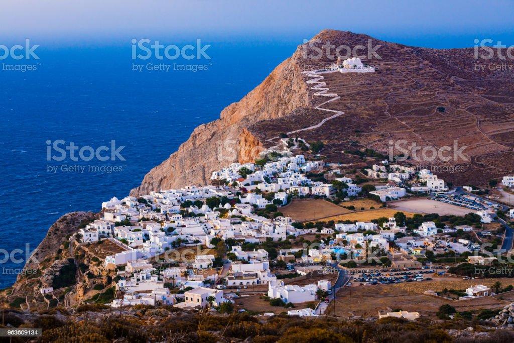 Chora, Insel Folegandros, Griechenland – Foto