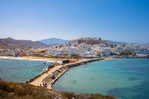 Chora von Naxos Insel, Kykladen, Griechenland. – Foto