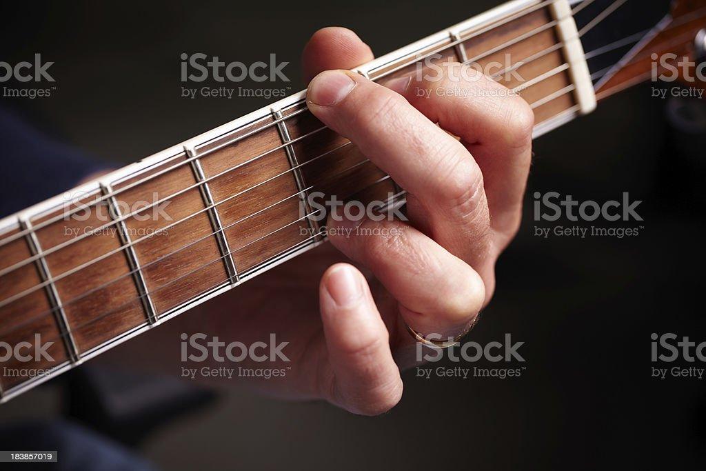 G chord royalty-free stock photo