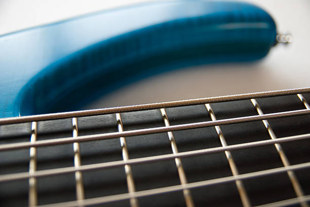 Royalty Free Closeup Of A 5 String Bass Guitar Pictures, Images and ...