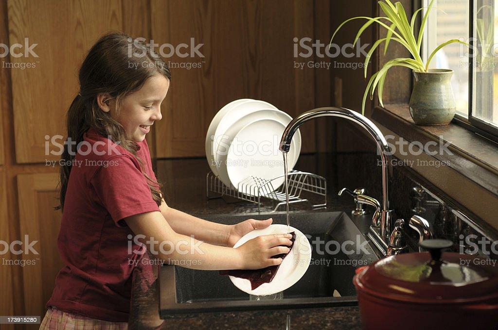 chores stock photo